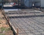 Rebar Installation 5 - Commercial Concrete Slab
